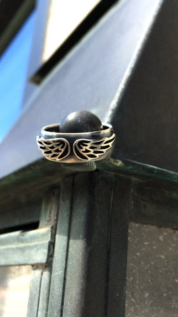 Spread Your Wings Sterling Ring