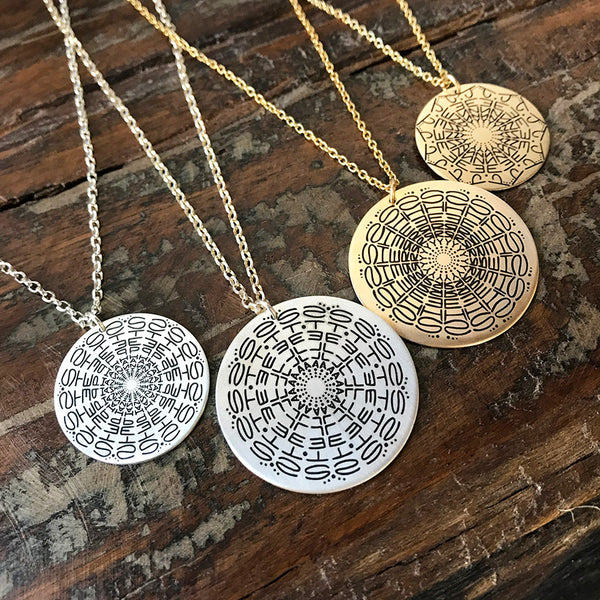 Small Namedala® - Mandala Name Necklace
