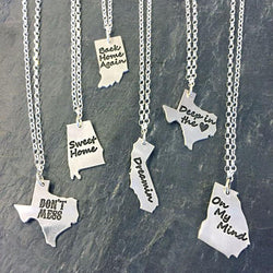 """State"" It Necklace"