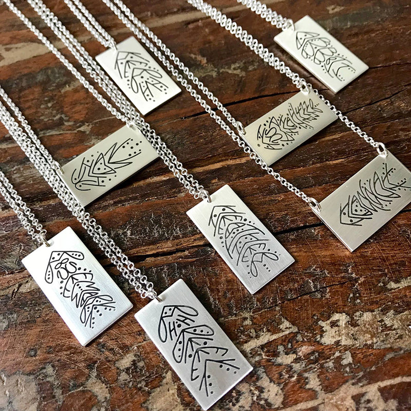 Untamed Name™ Necklace - Sterling Silver