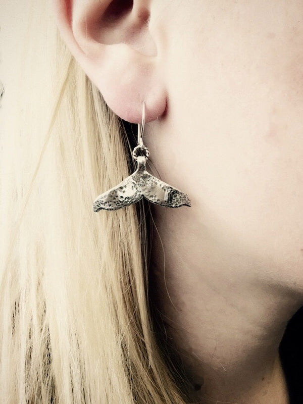 Whale Tail Earrings