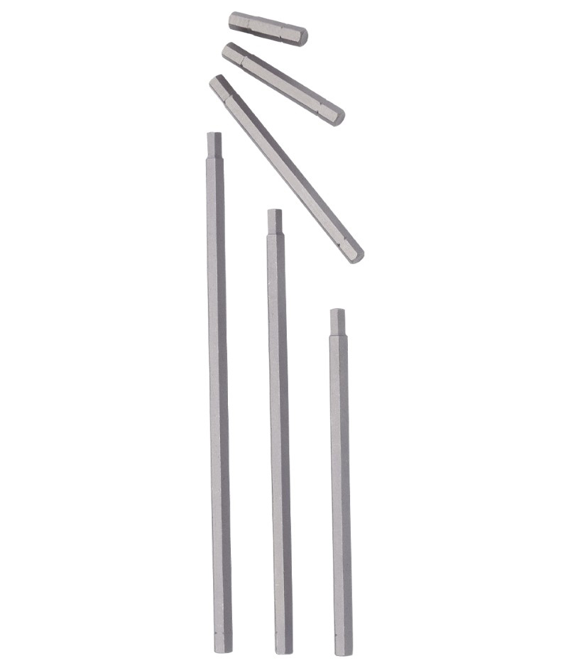 EMBOUT TOURNEVIS HEX.3MM,TIGE