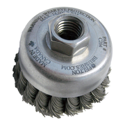 "3-1/2"" BROSSE KNOT CUP 5/8-11"