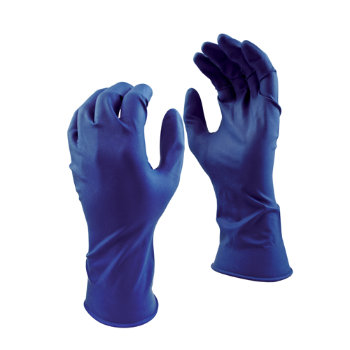 (50)GANTS LATEX BLEU 15mil LARGE