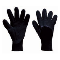 (1 PAIRE)GANTS LATEX NYLON MEDIUM