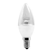 AMP.LED CHANDELLE 6W CHAUD