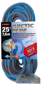 EXTENSION CORD 25FT 12/3 ARTIC BLUE