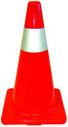 CONE DE SECURITE ORANGE 18