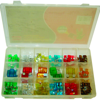ASSORTIMENT DE FUSIBLES 166 PC