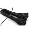 (100)ATTACHE CABLE NOIR 7-3/4