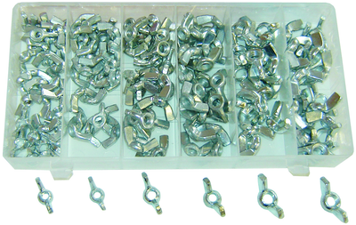 ASSORTIMENT D'ECROUS A OREILLE