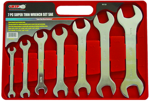 WRENCH SET 7PCS SAE