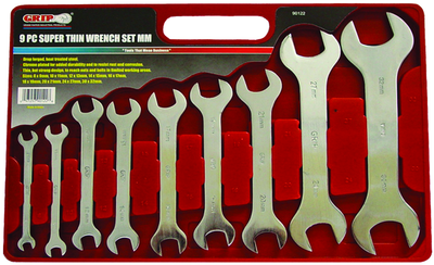 WRENCH KIT 9PC MET.