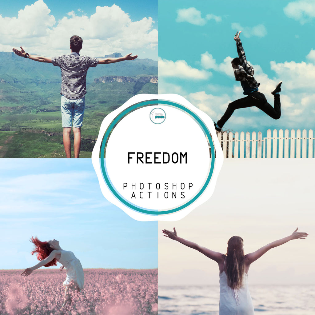 Freedom - 20 Photoshop Actions
