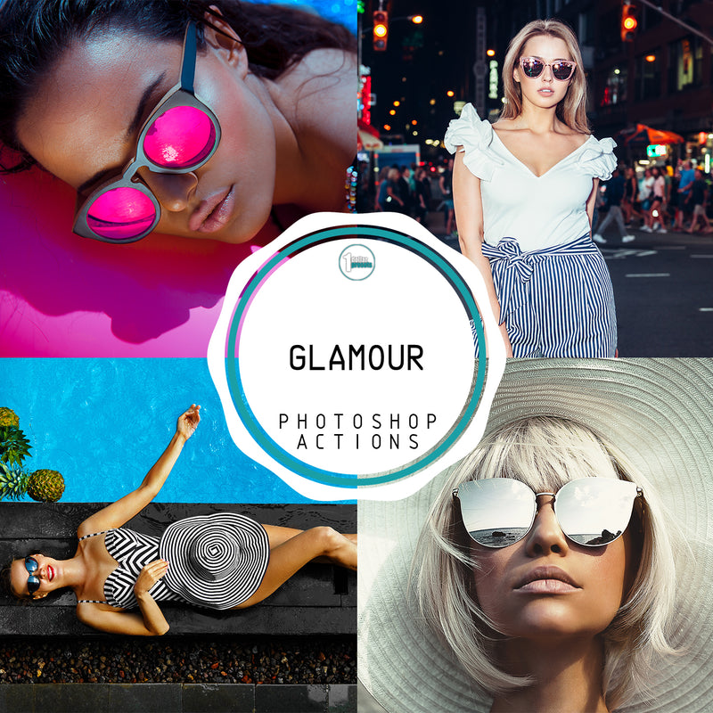 Glamour - 20 Photoshop Actions