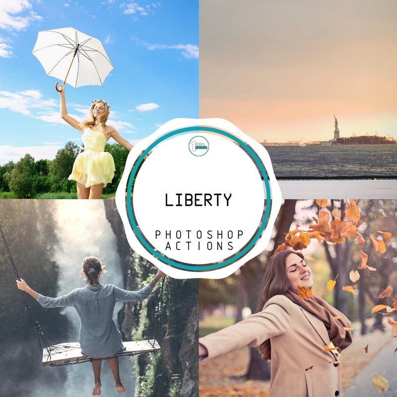 Liberty  - 20 Photoshop Actions