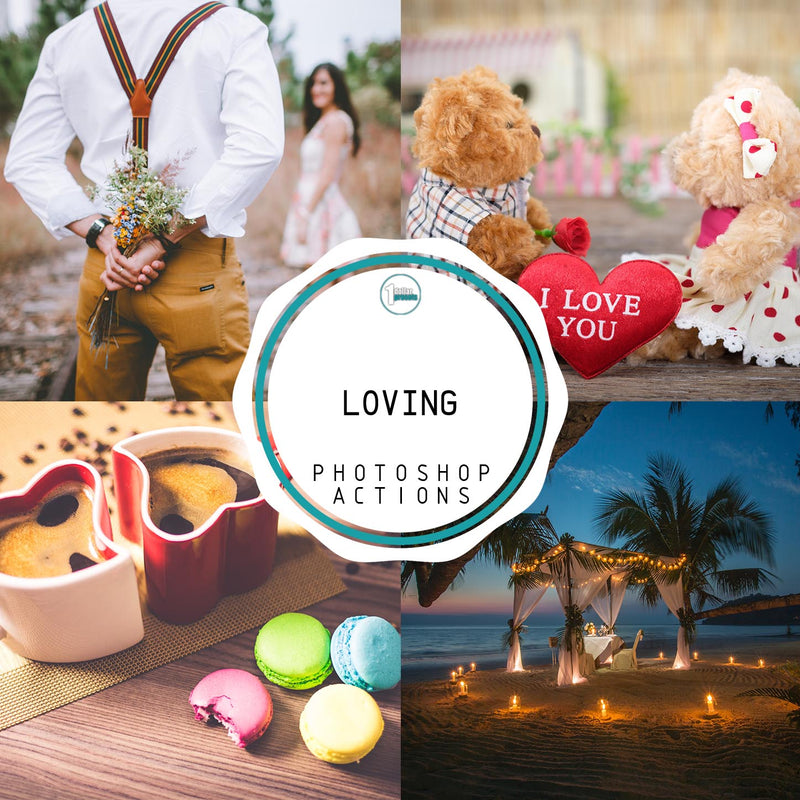 Loving - 25 Photoshop Actions
