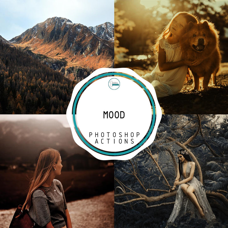 Mood - 20 Photoshop Actions