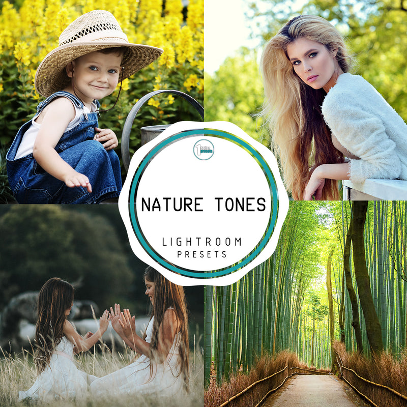 Nature Tones - 45 Lightroom Presets