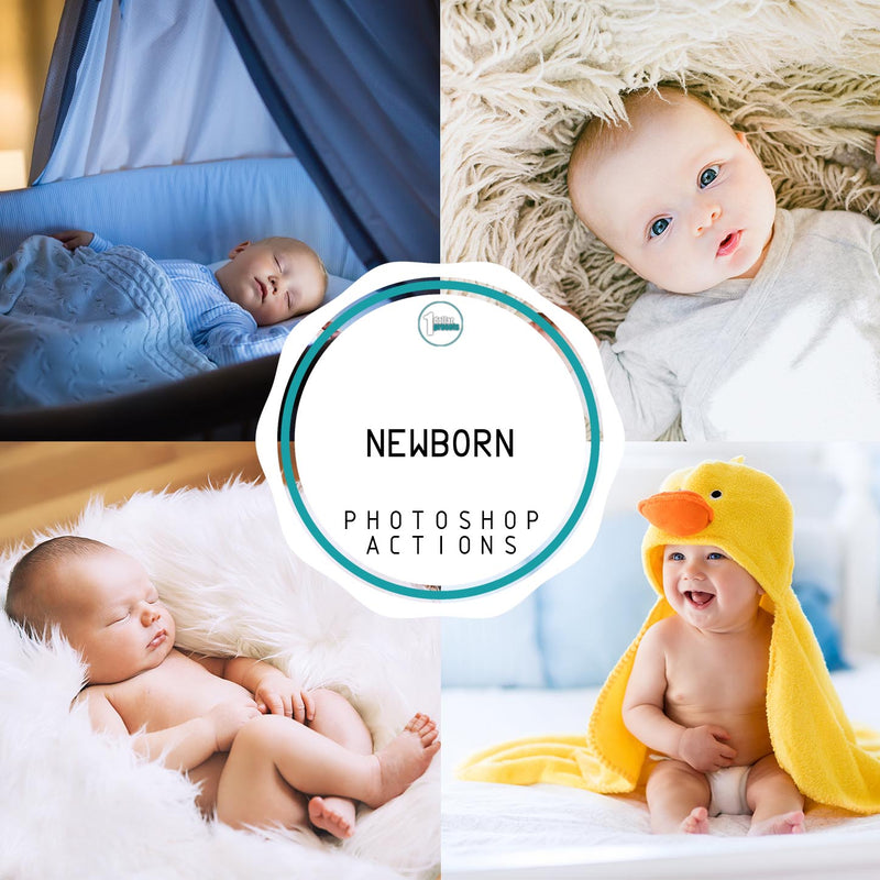 Newborn -30 Photoshop Actions