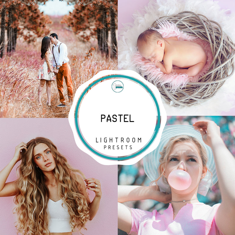 Pastel - 50 Lightroom Presets