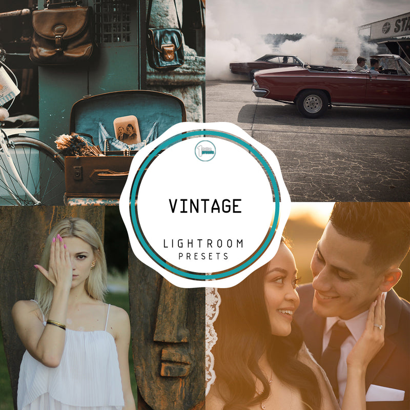 Vintage - 50 Lightroom Presets