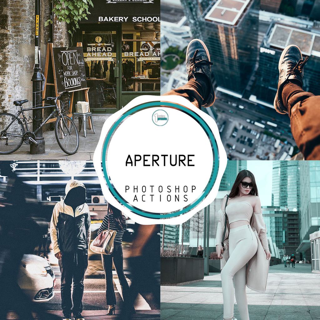 Aperture - 20 Photoshop Actions