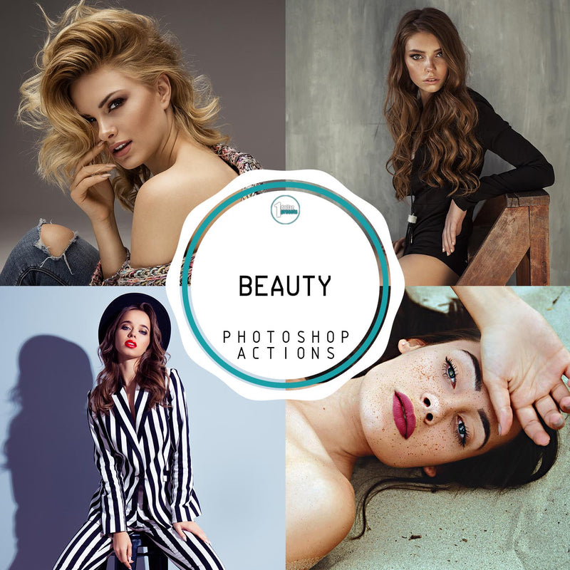 Beauty - 20 Photoshop Actions