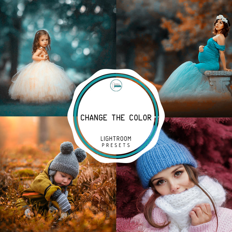 Change the color -50 Lightroom Presets
