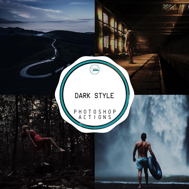 Dark Style - 25 Photoshop Actions
