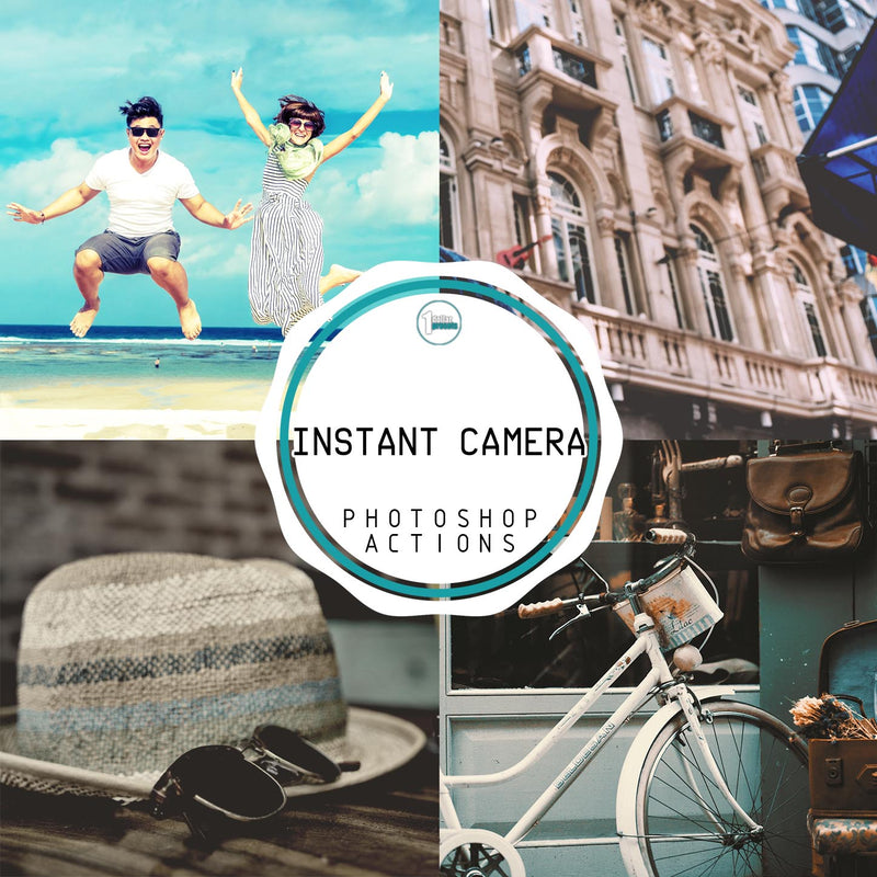 Instant Camera - 30 Photoshop Actions