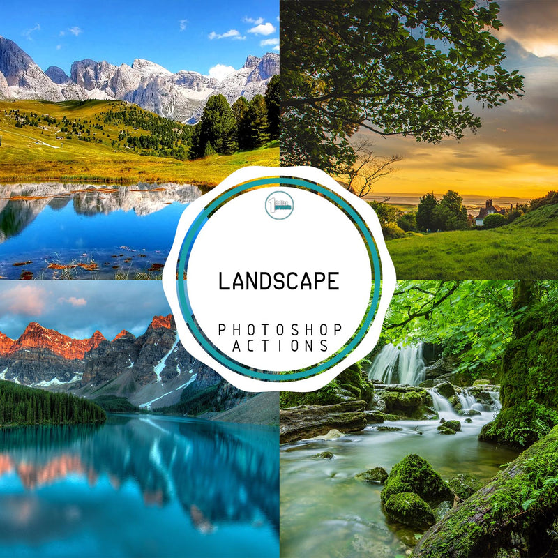 Landscape  - 25 Photoshop Actions