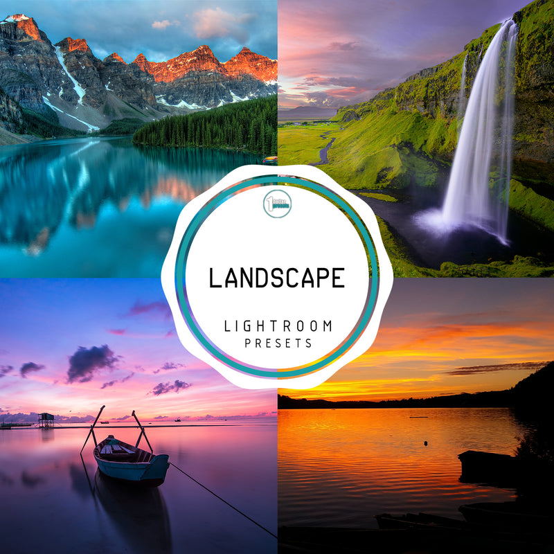 Landscape - 50 Lightroom Presets