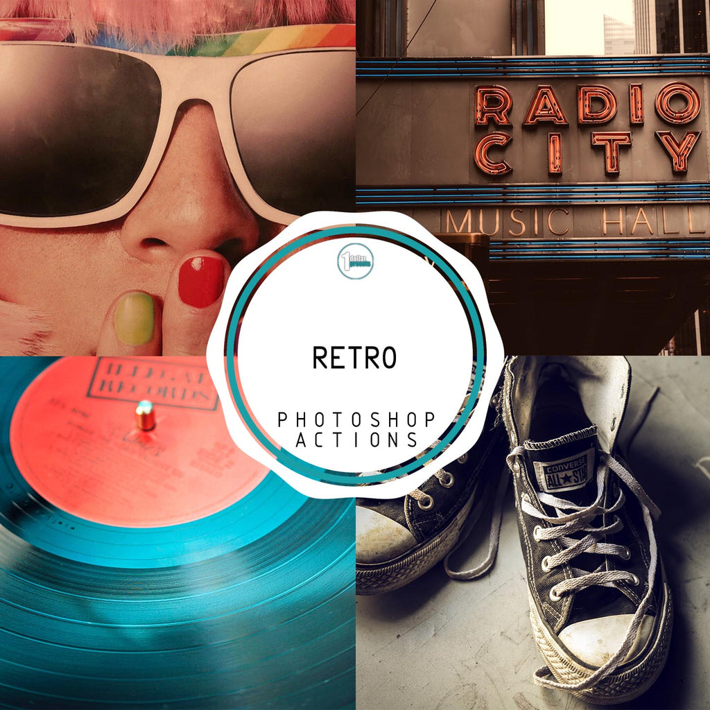 Retro - 20 Photoshop Actions