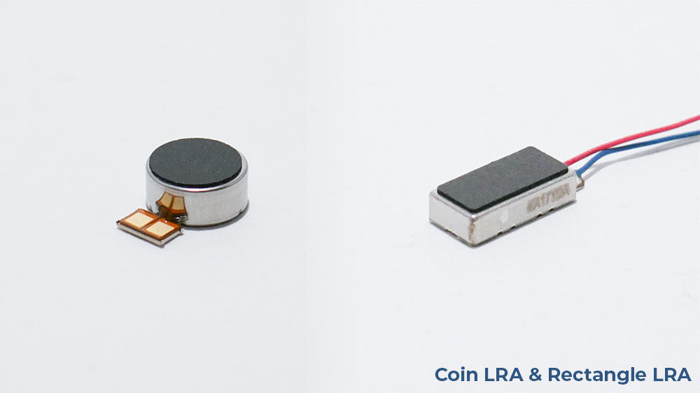 Coin and rectangle linear resonant actuator