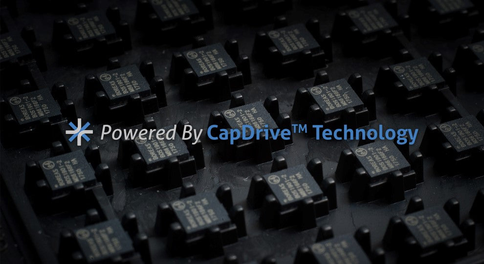 Powered by CapDrive Technology