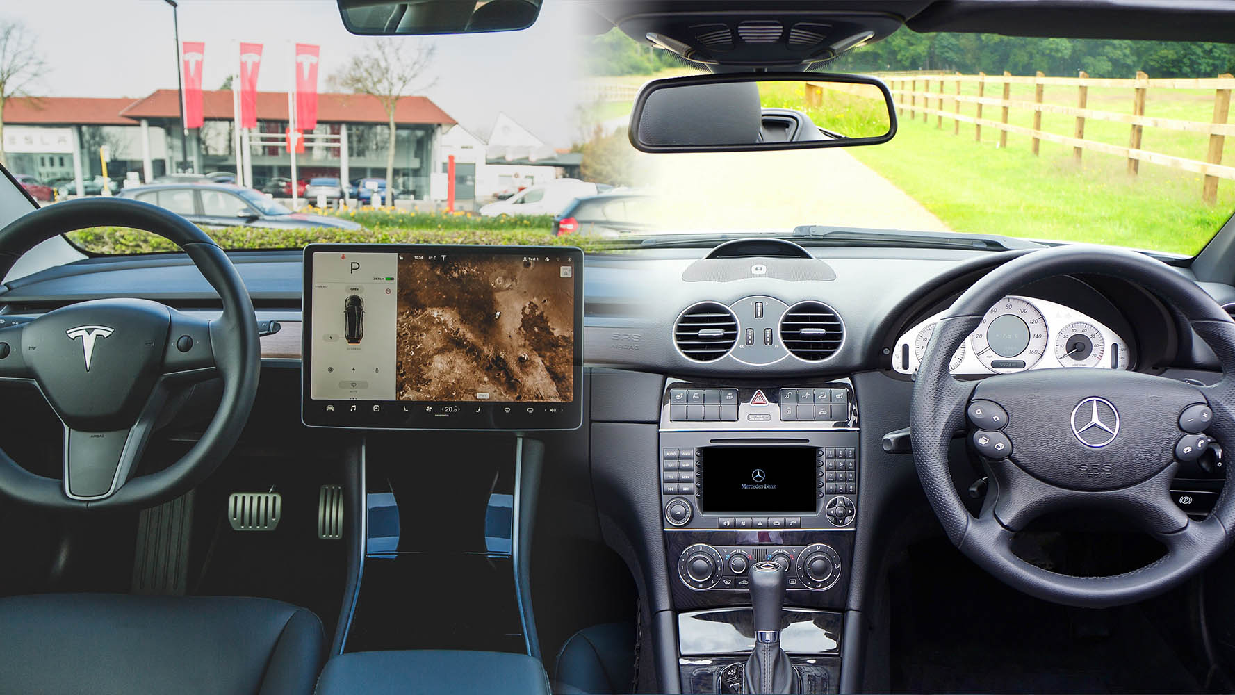touchscreen vs buttons infotainment systems
