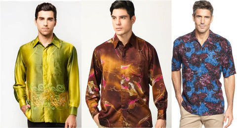 batik shirt, organic shirt, summer shirt, men shirt, handmade shirt, men fashion