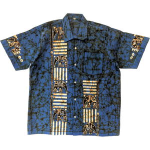 Elephant Men Batik Shirt - ceylond