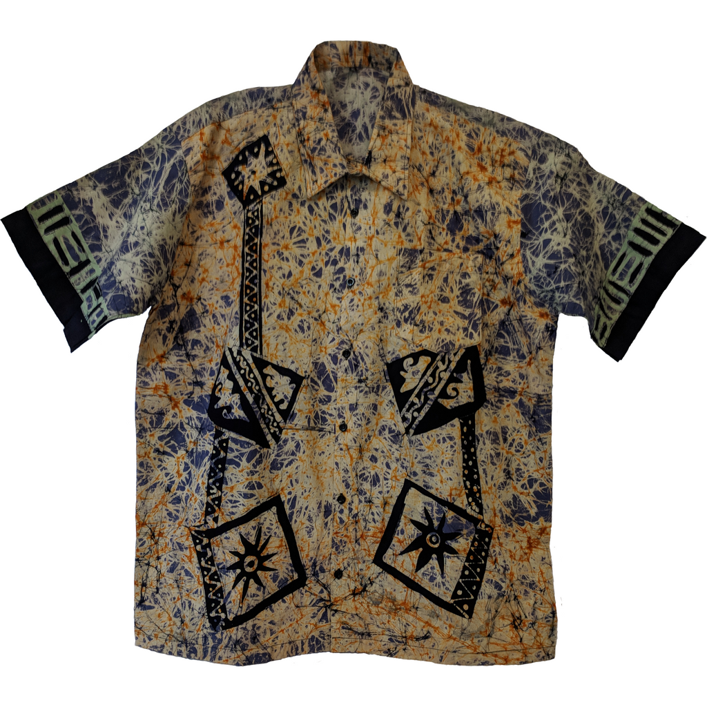 Gamee Men Batik Shirt - ceylond