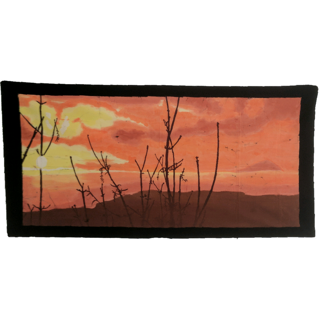 Sunset Batik Art - ceylond