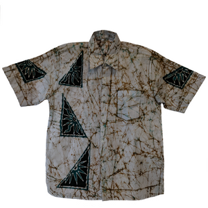 Trian Men Batik Shirt - ceylond