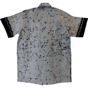 Waves Men Batik Shirt - ceylond