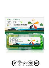 Nutrilite™ Double X™ Vitamin/Mineral/Phytonutrient Supplement – 31-Day Supply with 3-Compartment Case - ceylond