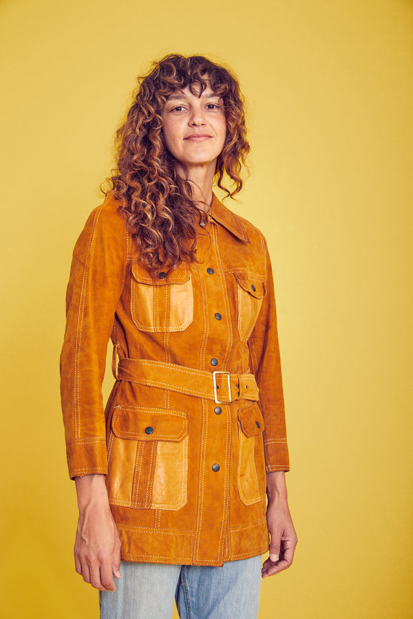 Reversible 70s trench