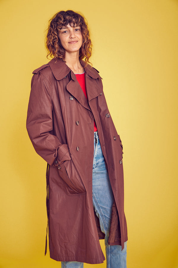 Classic Belted Trench Weather Resistant