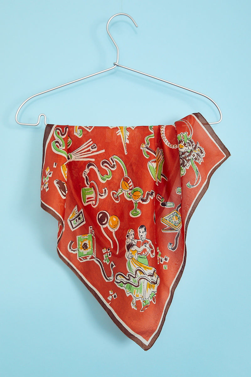 Party Kerchief Pre-1960s