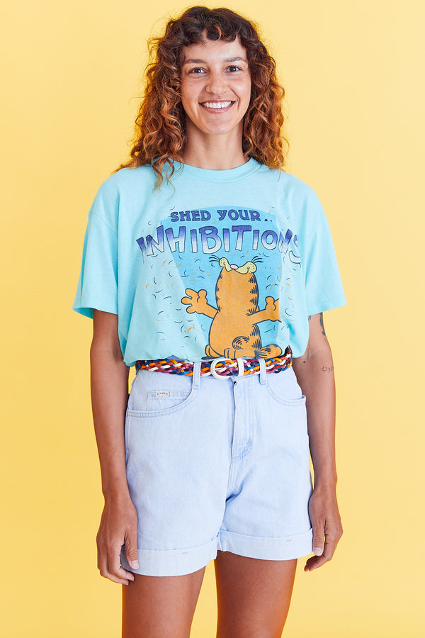 Shed Your Inhibitions Garfield Tee