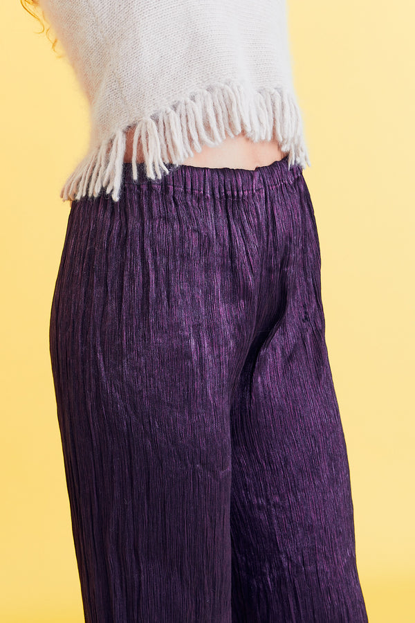 Purple Shimmer Genie Pants
