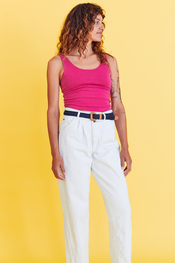Hot Pink Crop Top by Betty Blue